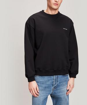 Copyright Logo Oversize Cotton Sweater