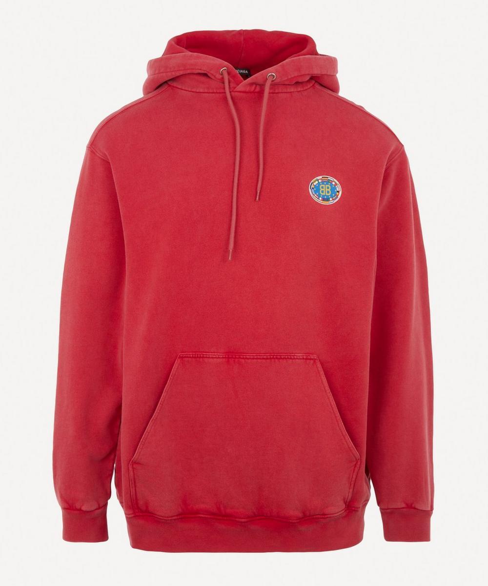Balenciaga - EU Logo Hooded Sweater