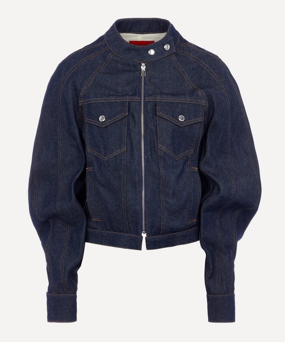 Eckhaus Latta - Warped Denim Jacket