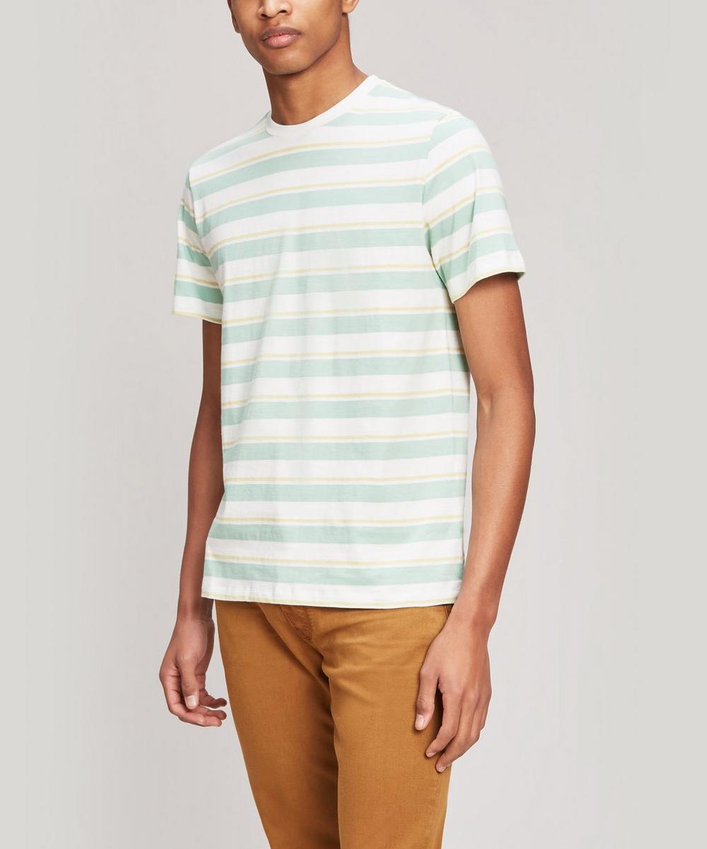 A.P.C. - Yves Striped Cotton T-Shirt