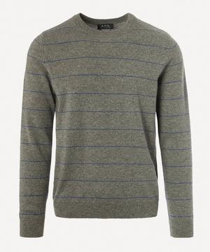 Ambrose Stripe Cashmere Knitted Jumper