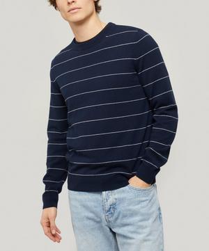 Ambrose Stripe Cashmere Knitted Jumper