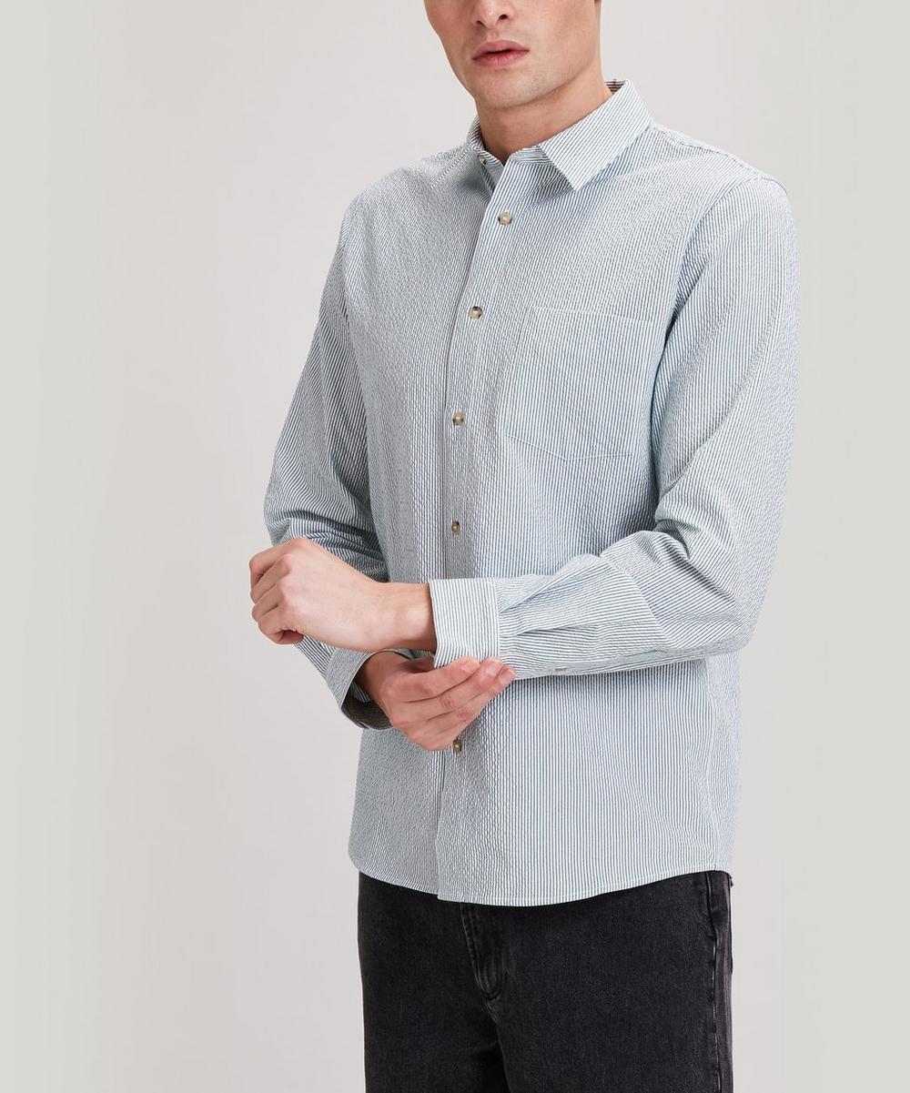 A.P.C. - 92 Striped Seersucker Shirt