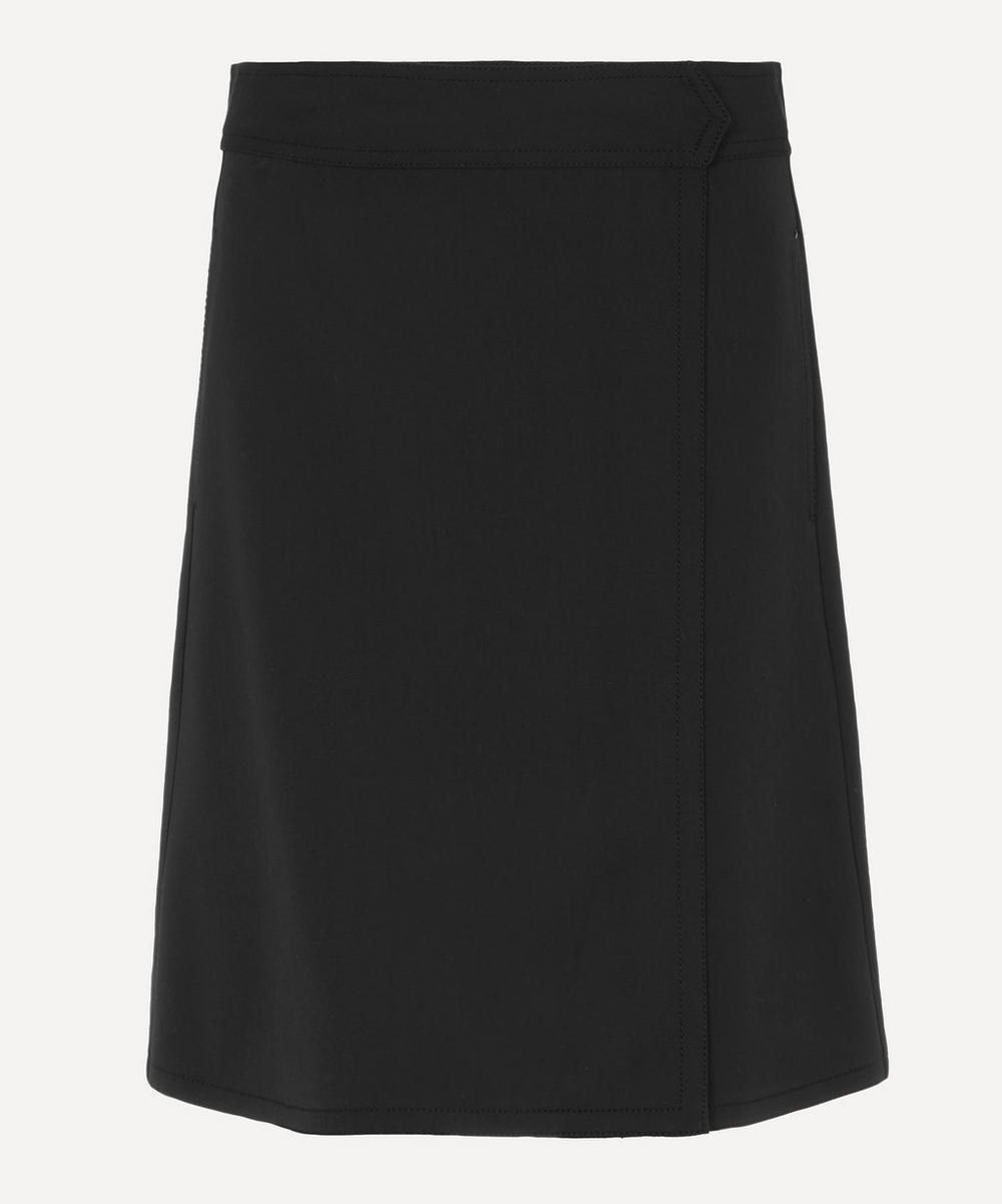 A.P.C. - Stitch Wool-Flannel Skirt