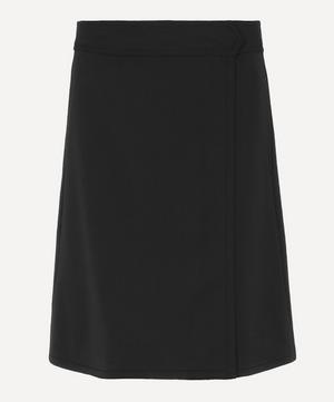 Stitch Wool-Flannel Skirt