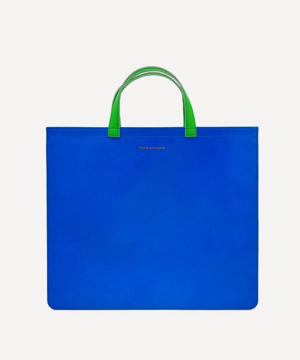 Comme Des Garçons - Super Fluo Leather Tote Bag