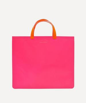 Super Fluo Leather Tote Bag