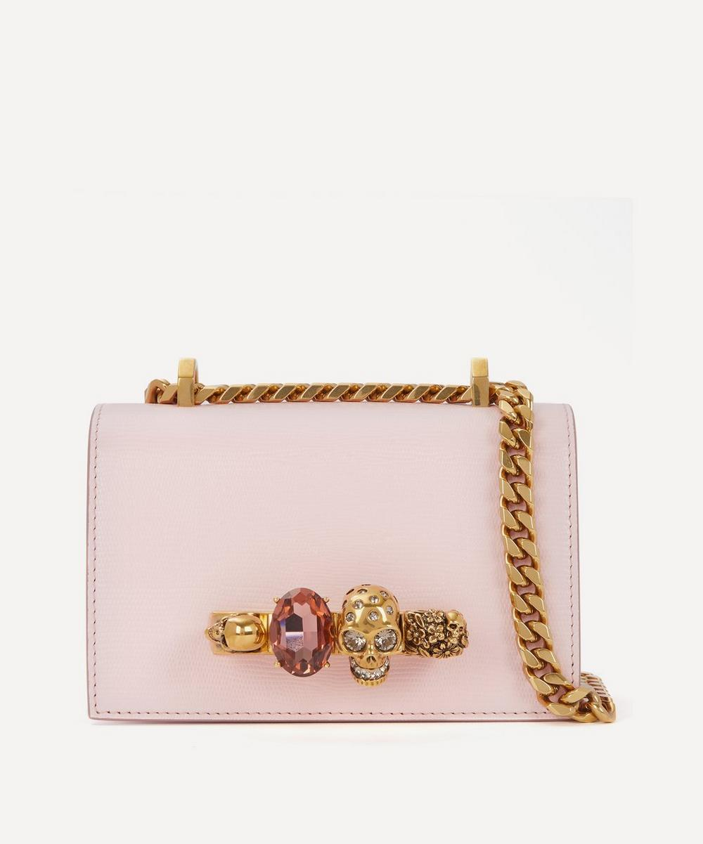 Alexander McQueen - Mini Jewelled Leather Satchel