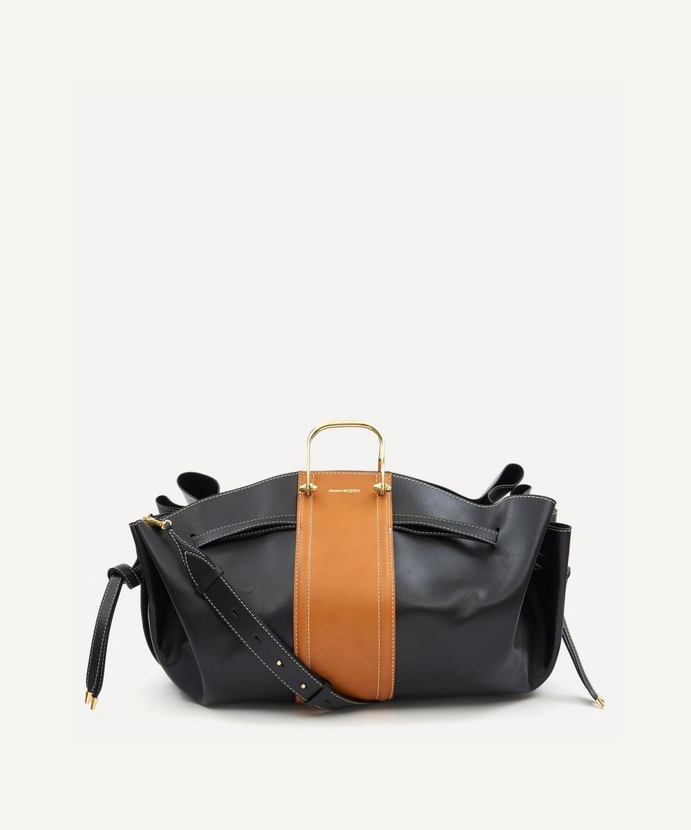 Alexander McQueen - The Story Drawstring Leather Tote Bag