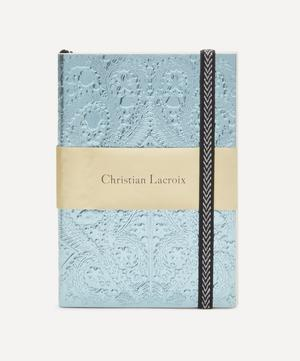 A6 Moon Silver Embossed Paseo Notebook