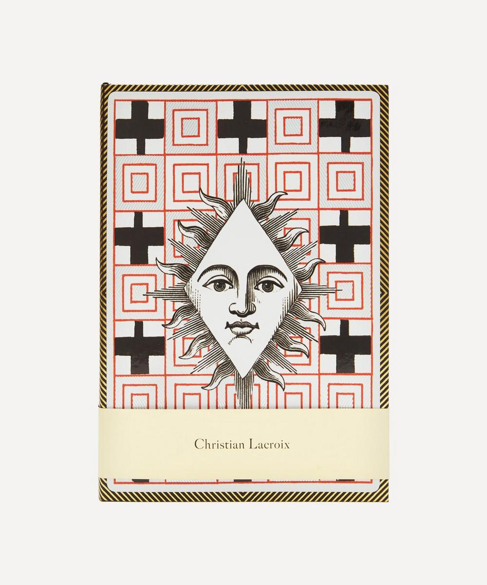 Christian Lacroix Papier - A5 Poker Face Layflat Notebook image number 0