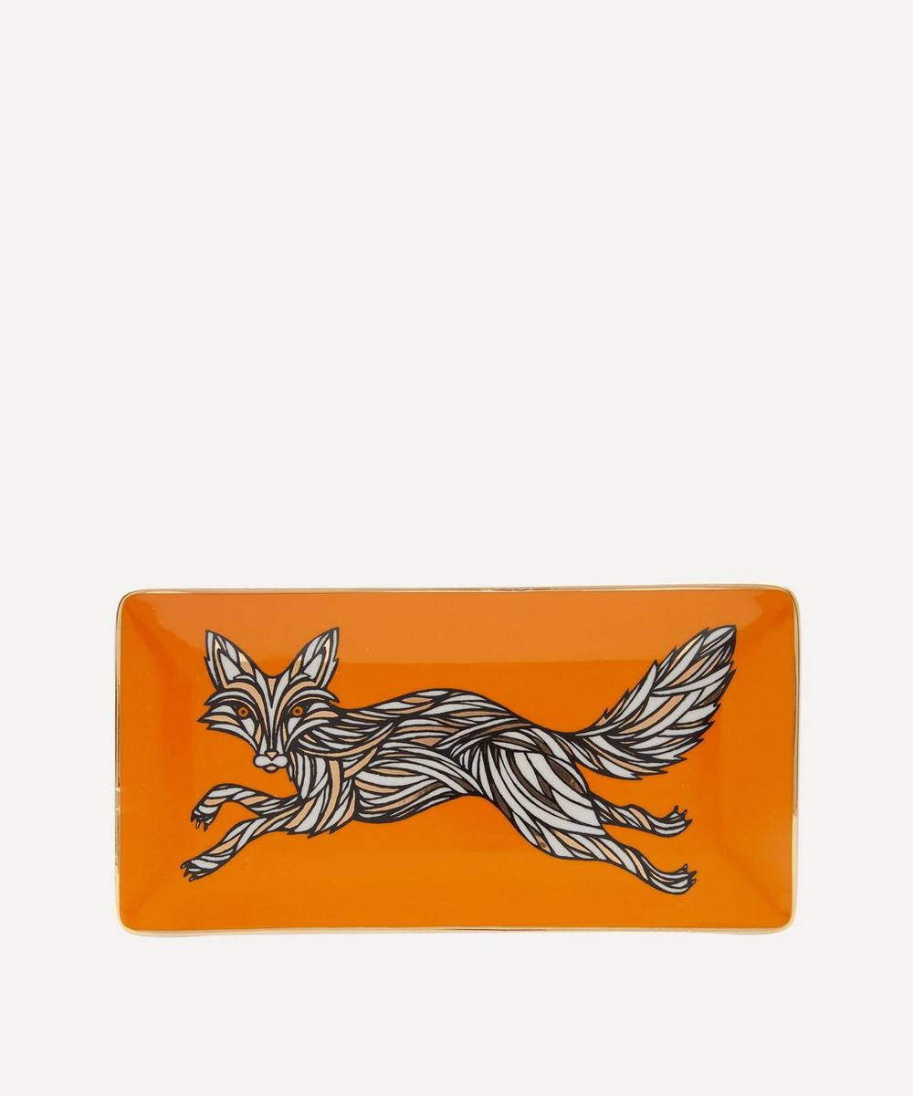 Patch NYC - Fox Porcelain Rectangular Tray