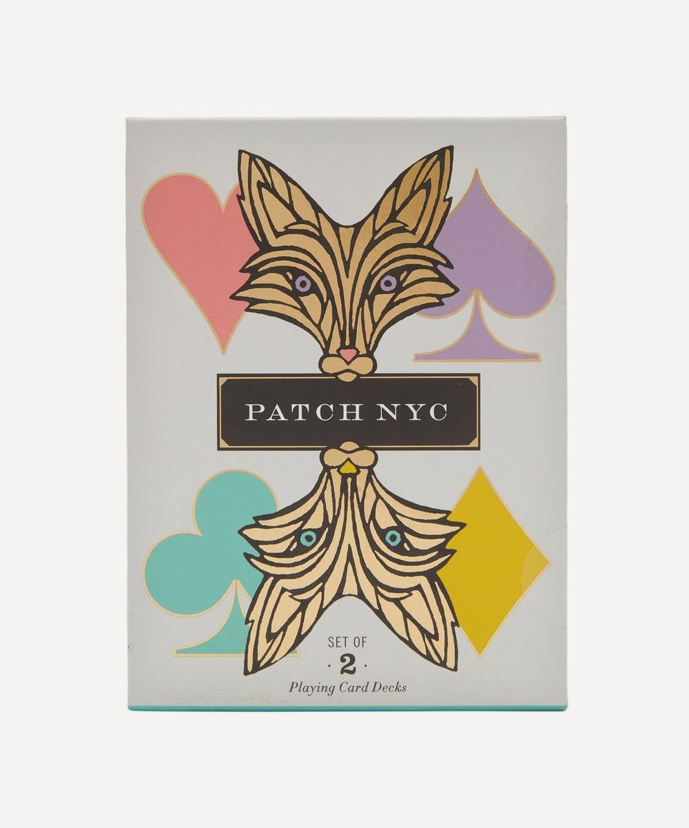 Patch NYC - Playing Cards Set of Two
