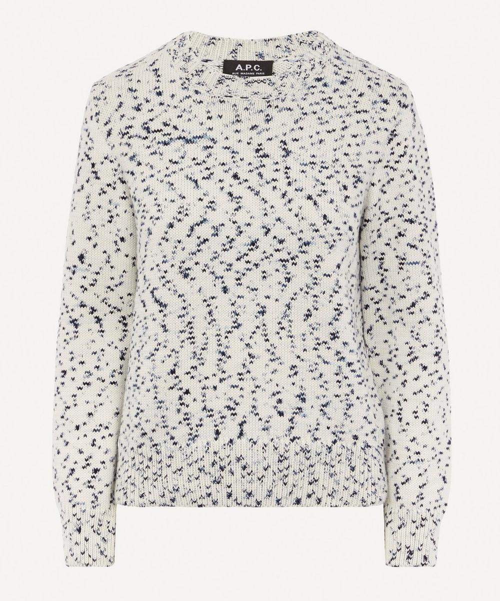 A.P.C. - Daphne Speckled Knit Jumper