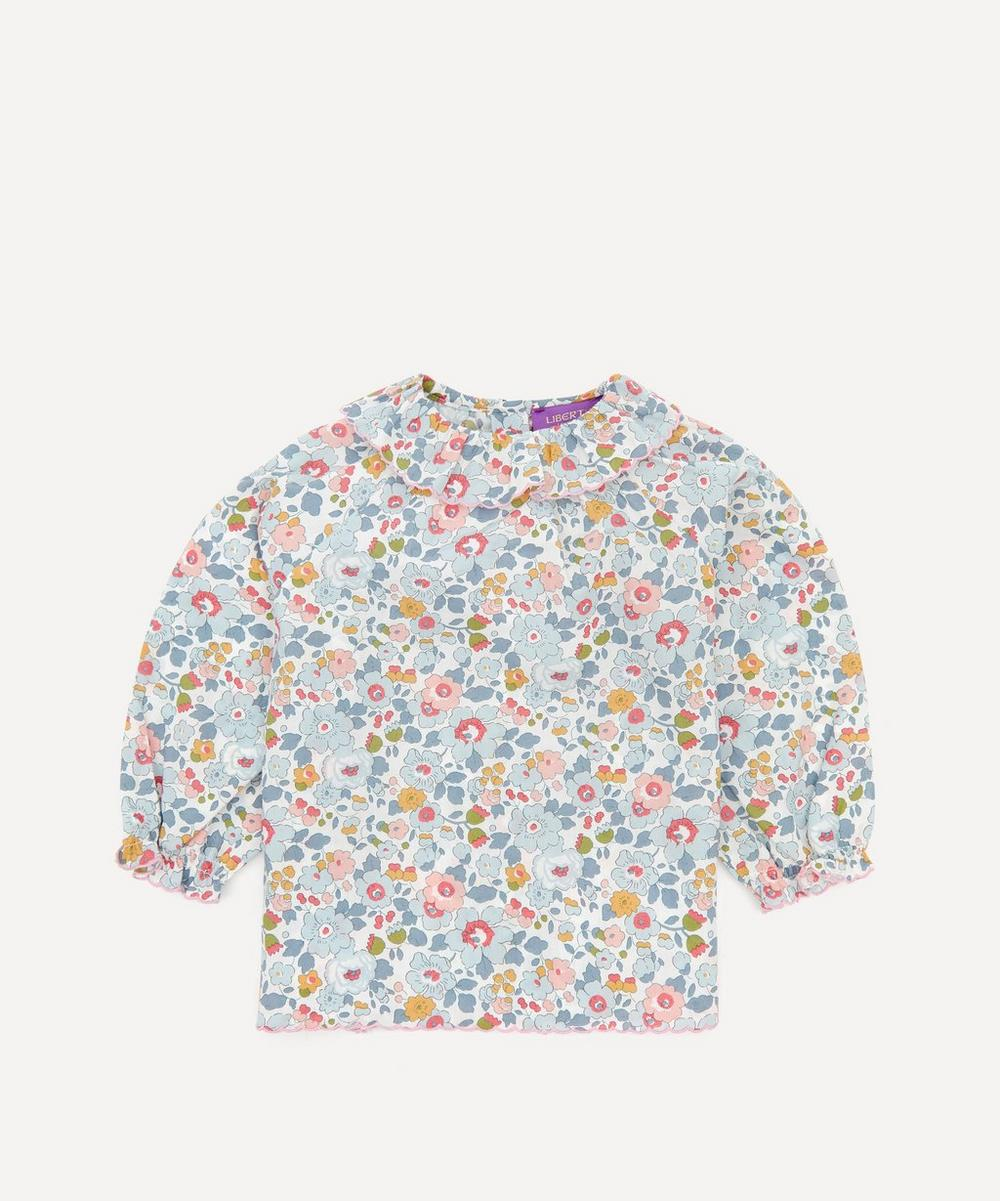 Liberty London - Betsy Ruffle Blouse 3 Months-3 Years