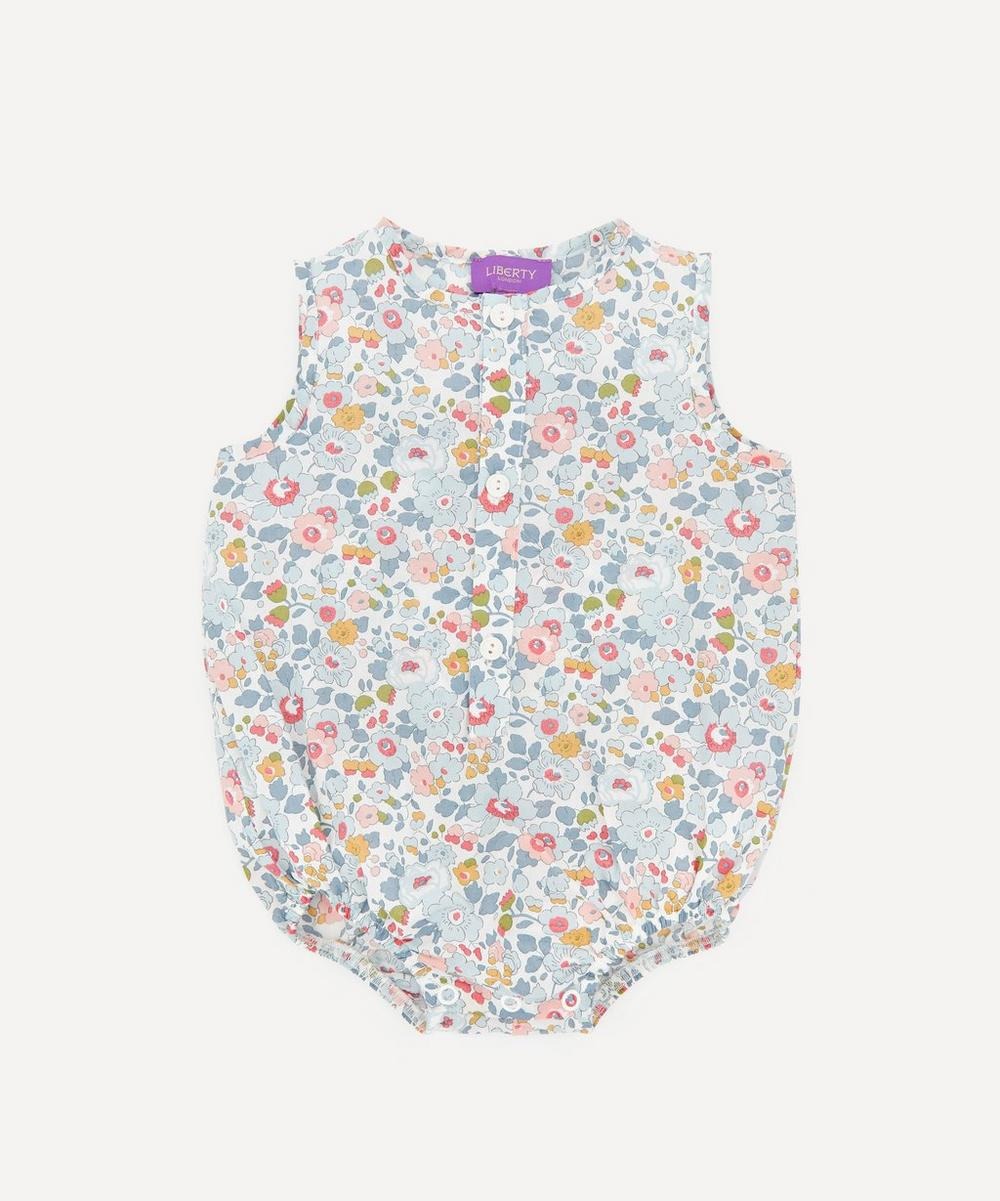 Liberty London - Betsy Button-Up Romper 3-24 Months