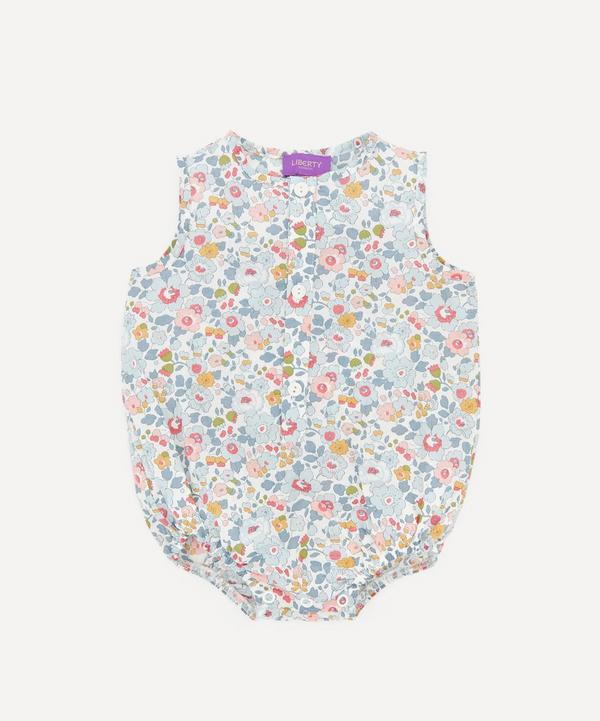 Liberty - Betsy Button-Up Romper 3-24 Months