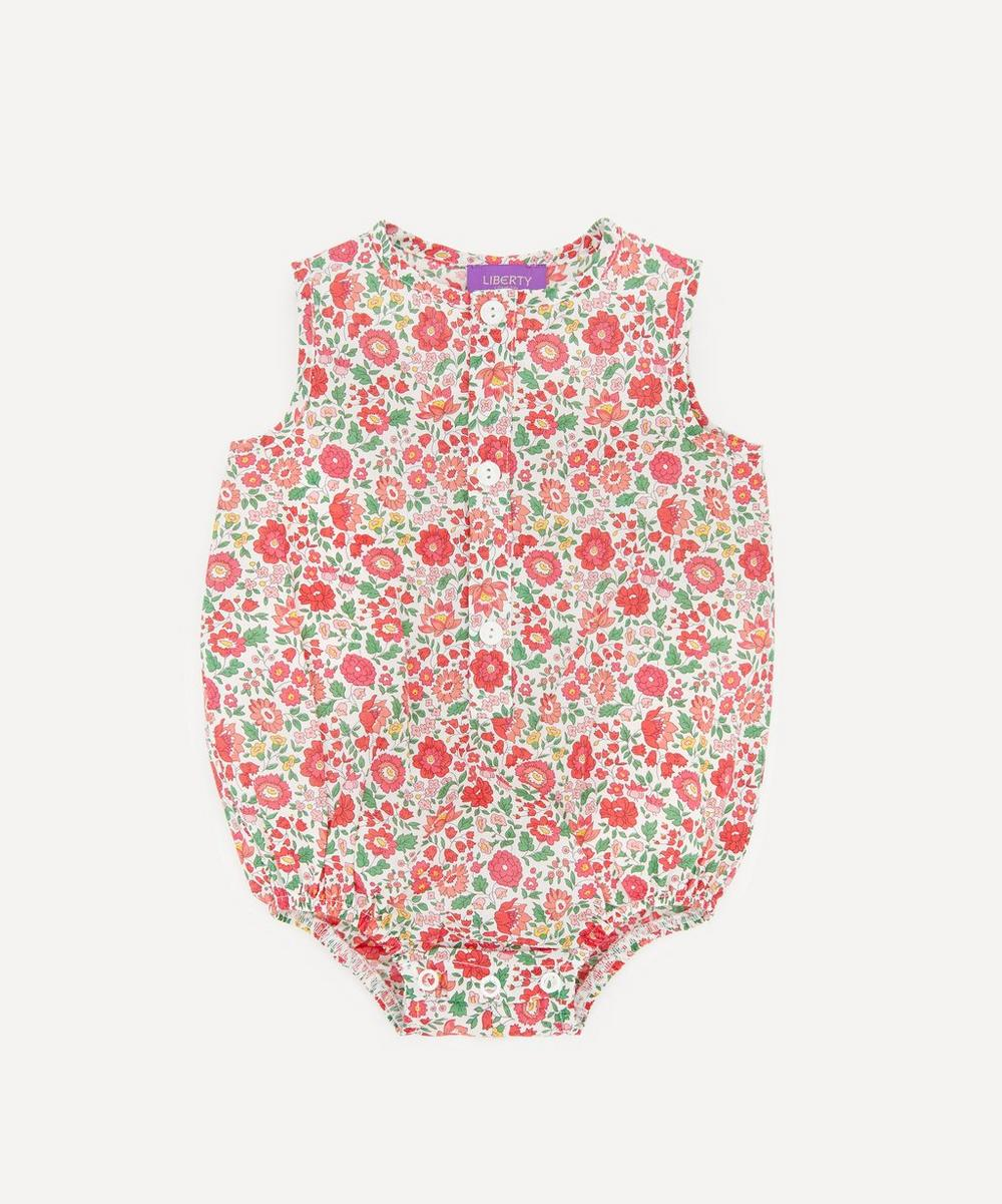 Liberty London - Danjo Button-Up Romper 3-24 Months