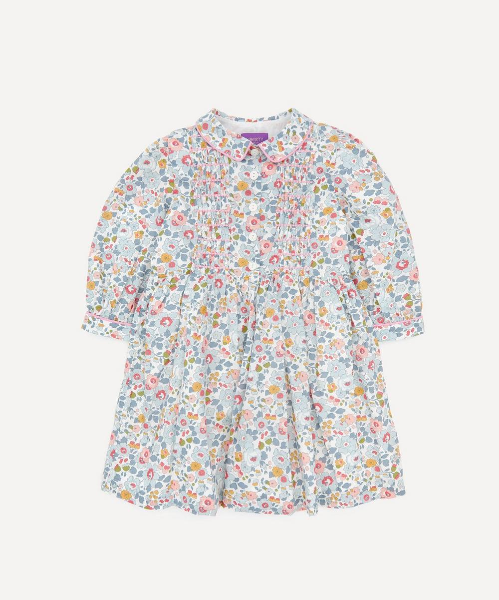 Liberty London - Betsy Long Sleeved Shirt Dress 2-10 Years