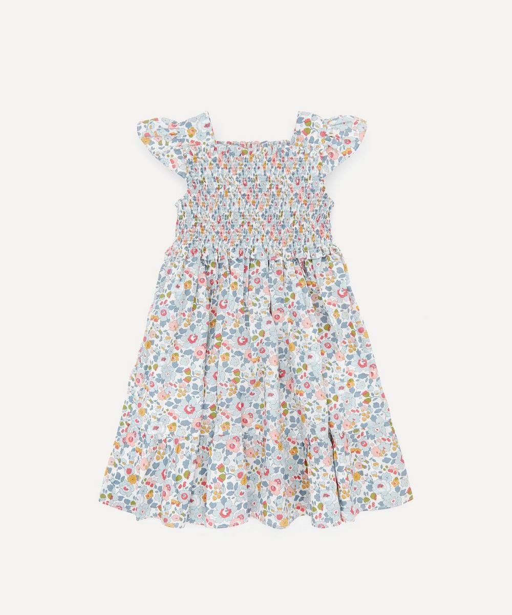 Liberty London - Betsy Ruched Ruffle Dress 2-10 Years