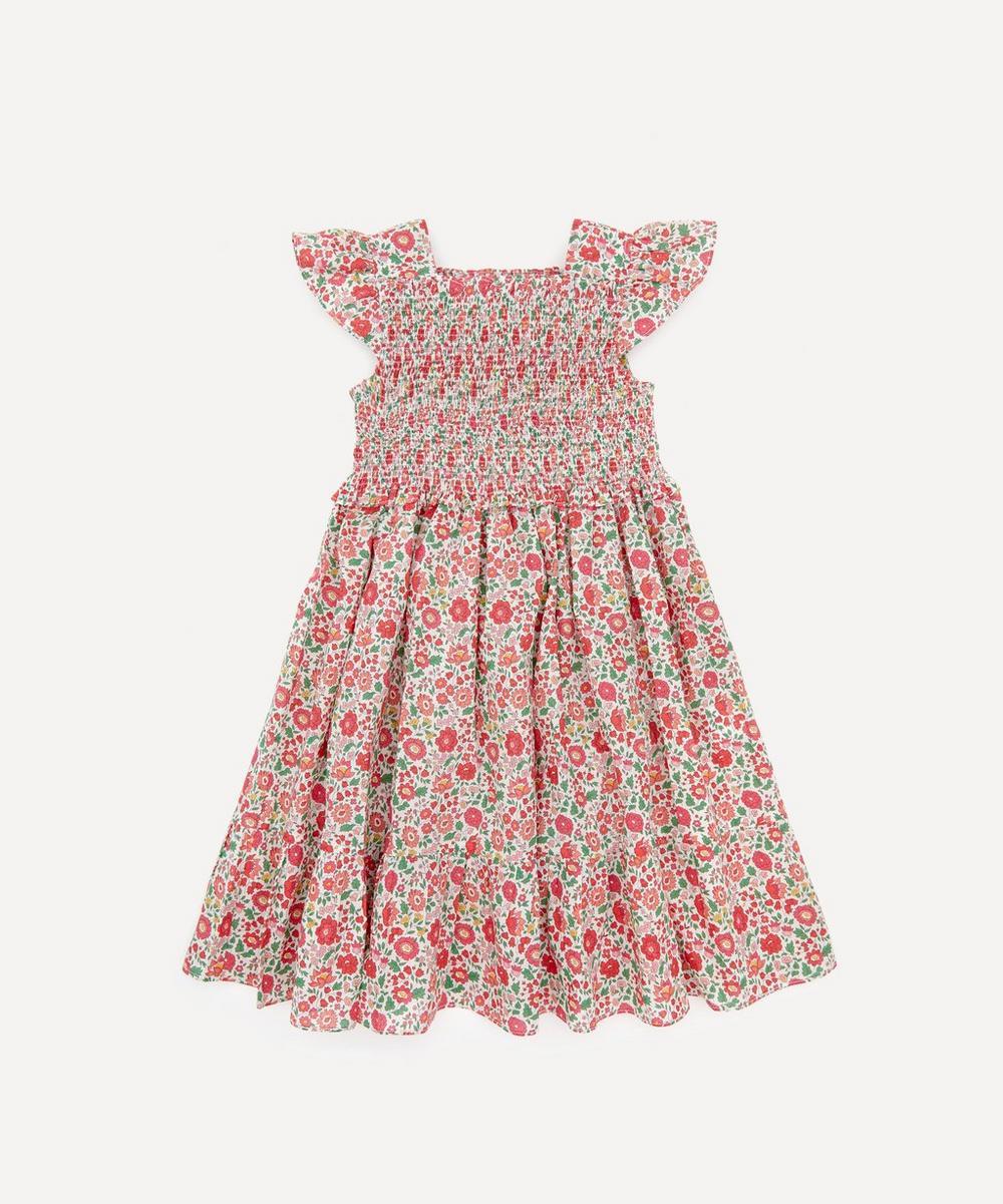 Liberty London - Danjo Ruched Ruffle Dress 2-10 Years