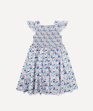 Queue for the Zoo Ruched Ruffle Dress 2-10 Years