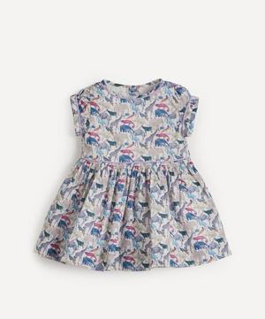 Queue for the Zoo Short Sleeved Dress 3-24 Months