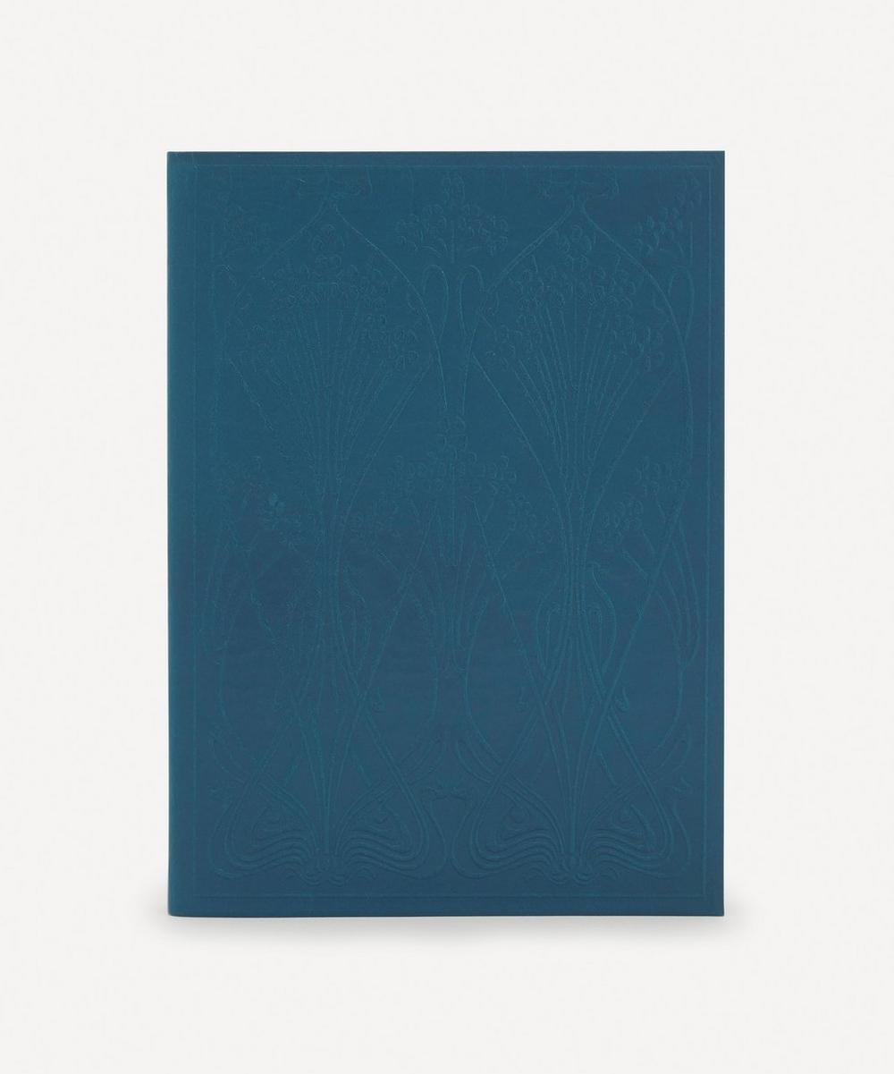 Liberty London - Leather Ianthe Large Notebook