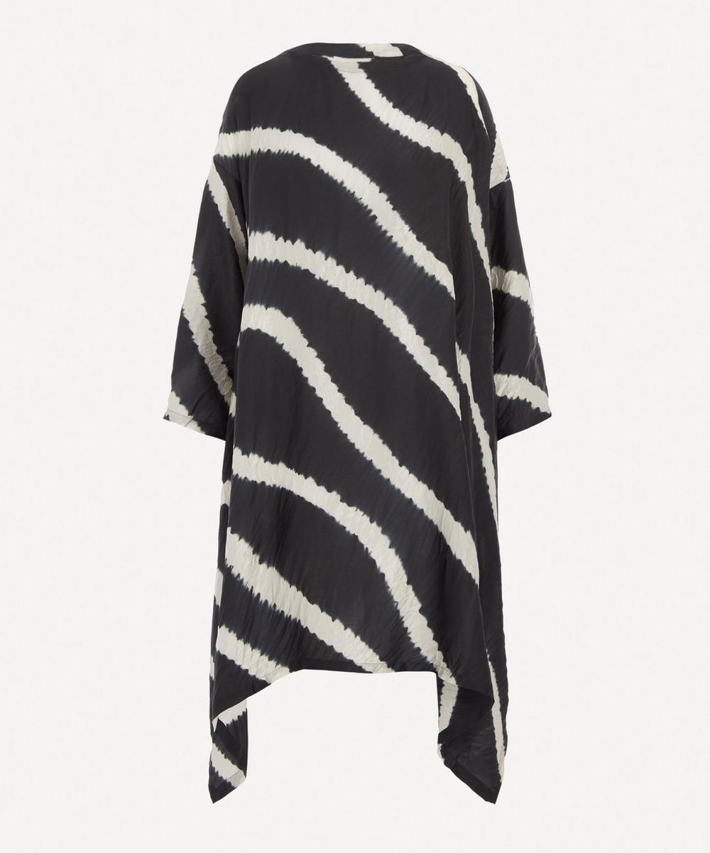 Eskandar - Shibori Scoop Neck Dress