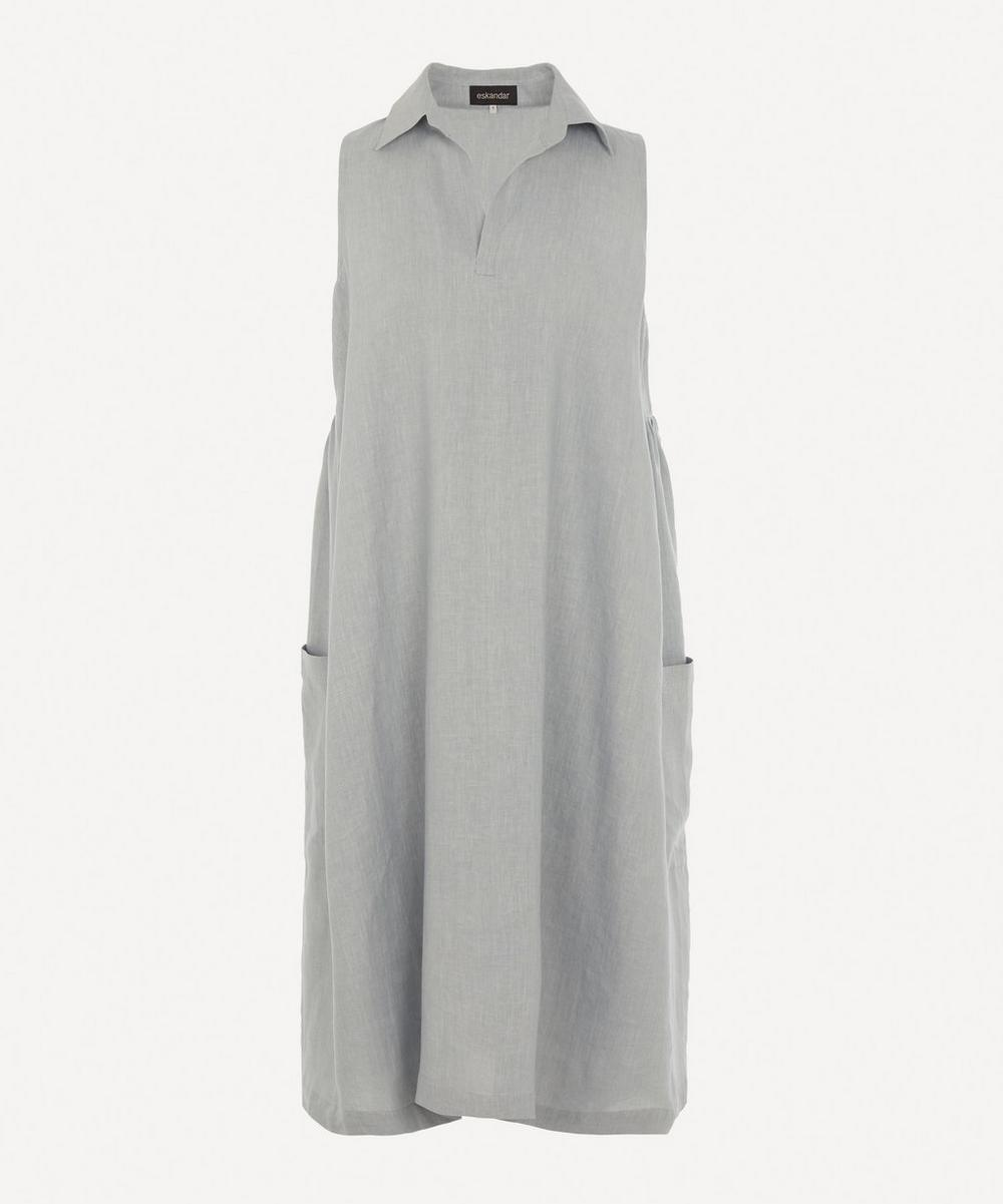 Eskandar - Sleeveless Linen Dress