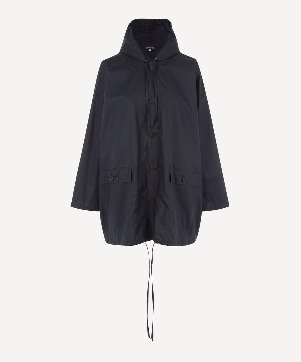 Eskandar - Hooded Raincoat