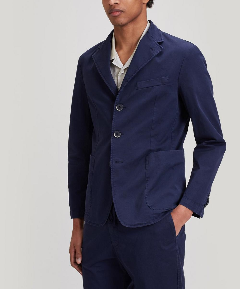 Barena - Piero Single-Breasted Cotton-Blend Blazer