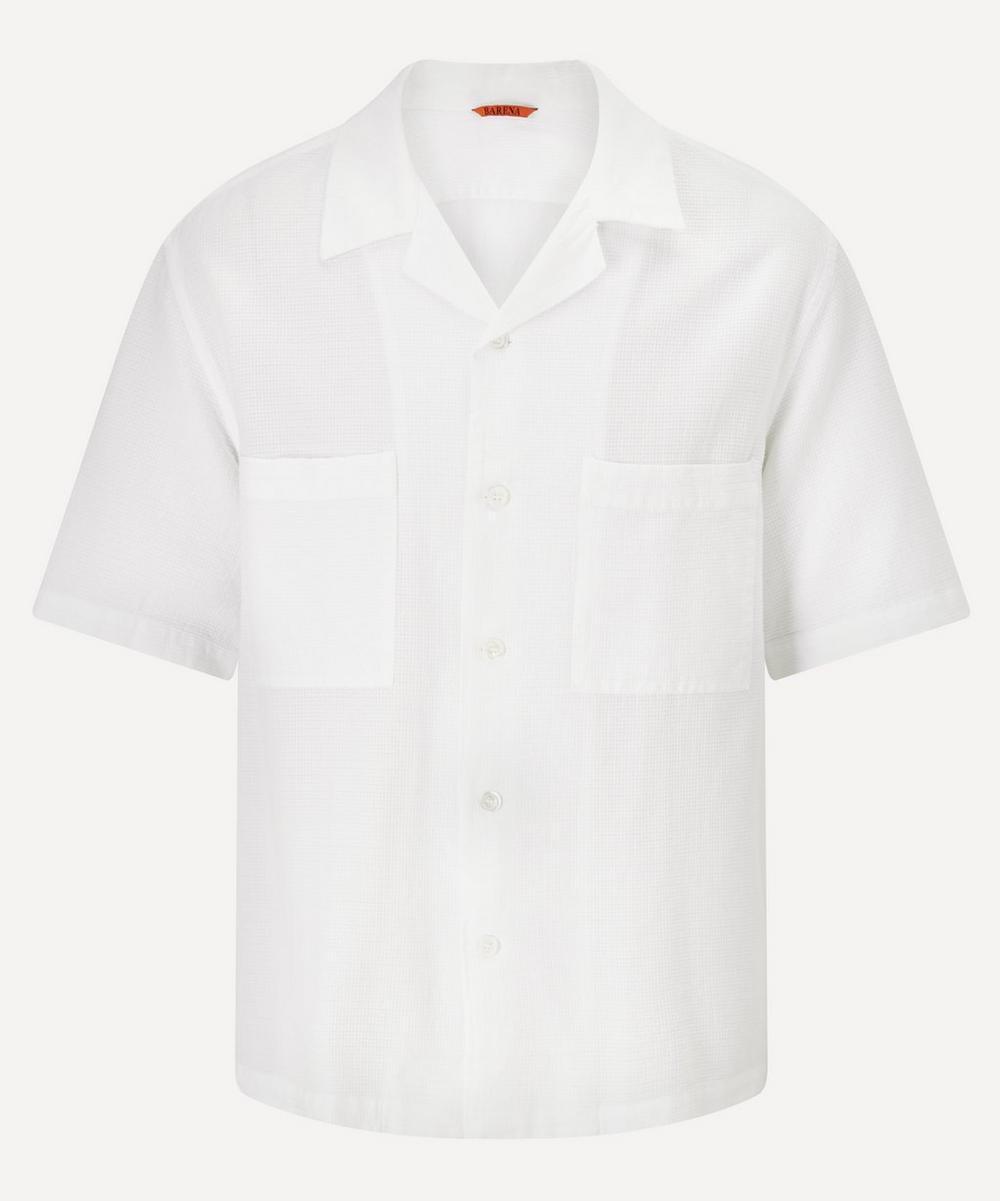 Barena - Solana Open Collar Short-Sleeve Shirt