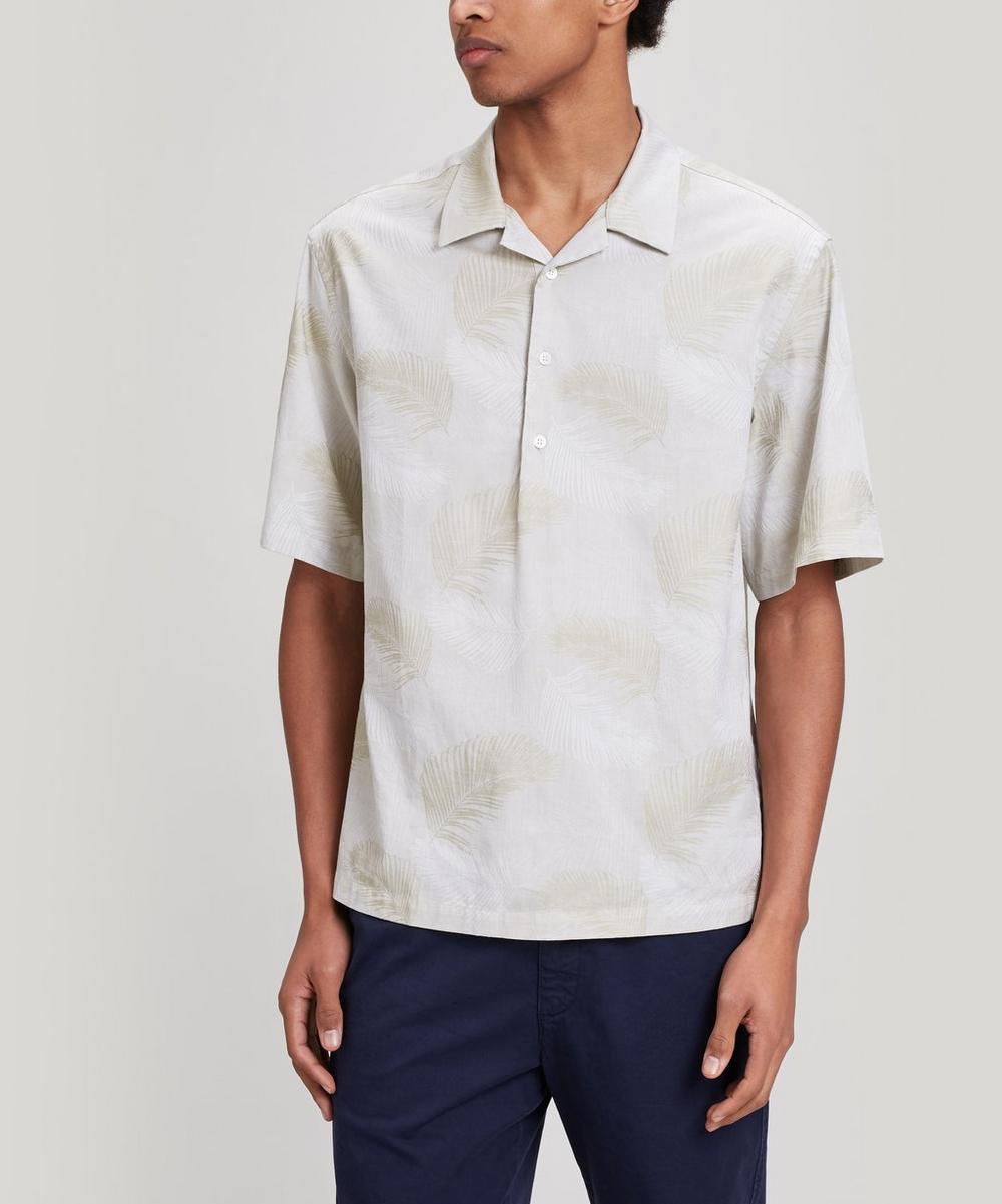 Barena - Mola Leaf Print Cotton Shirt