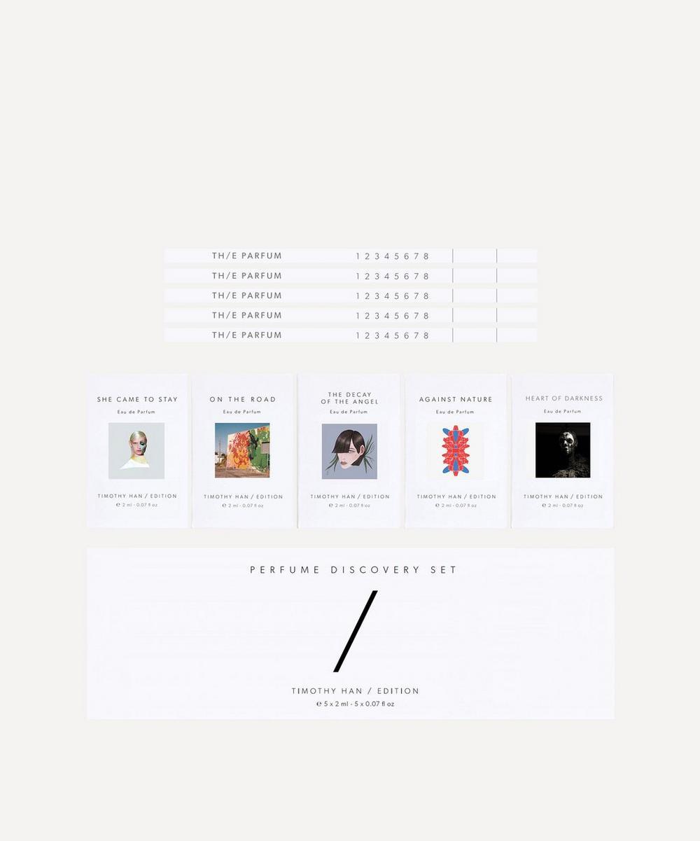 TIMOTHY HAN / EDITION - Fragrance Discovery Set 5 x 2ml