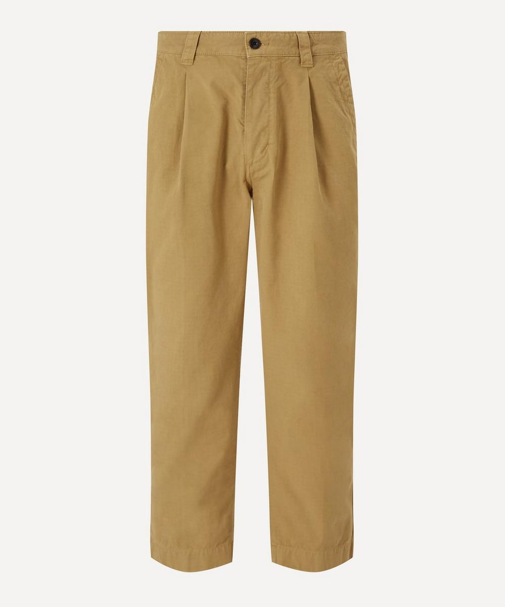Albam - Gd Ripstop Pleated Trousers