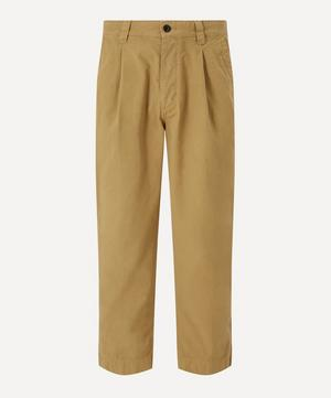 Gd Ripstop Pleated Trousers