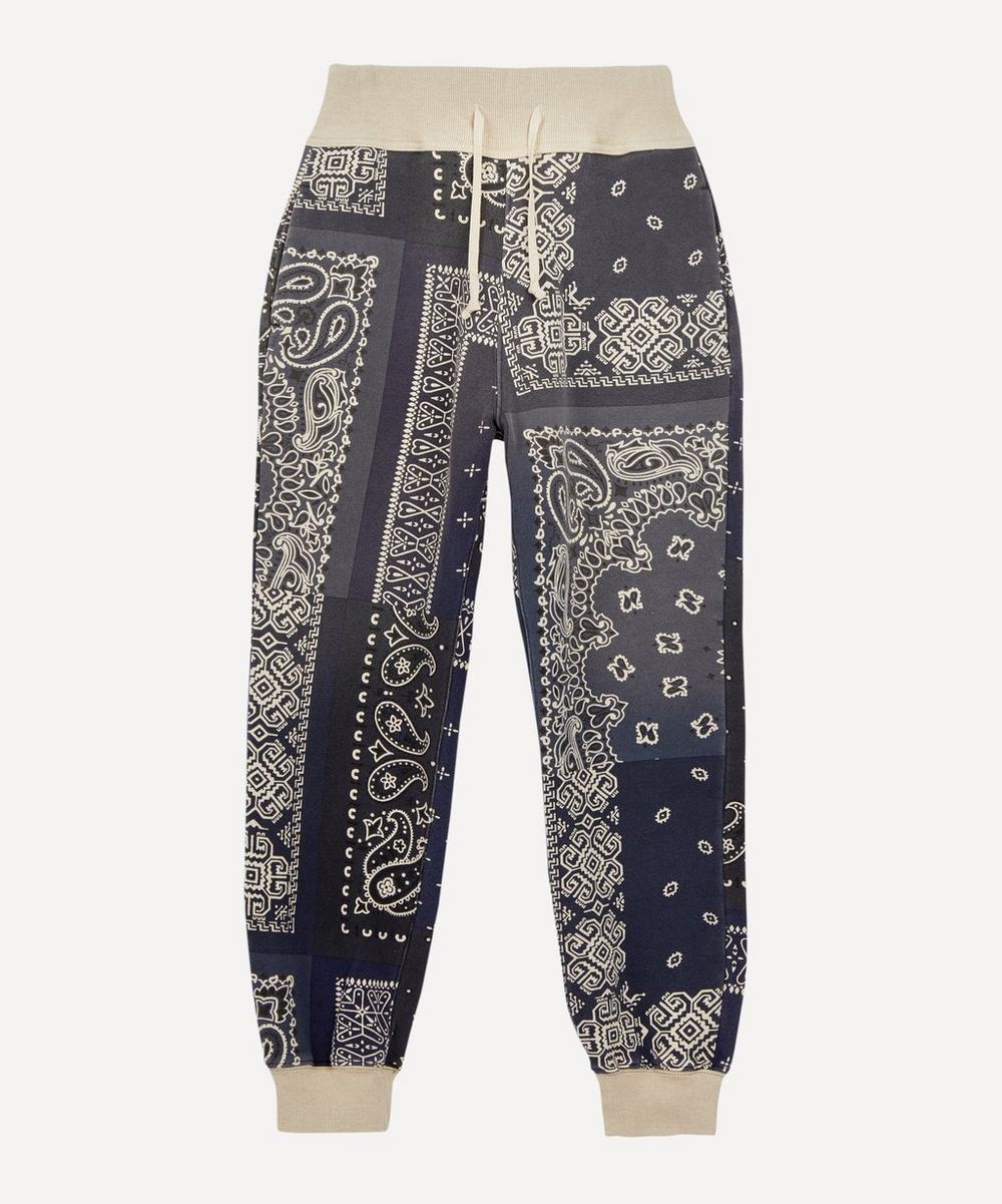 Kapital - Bandana-Print Fleece Tracksuit Trousers