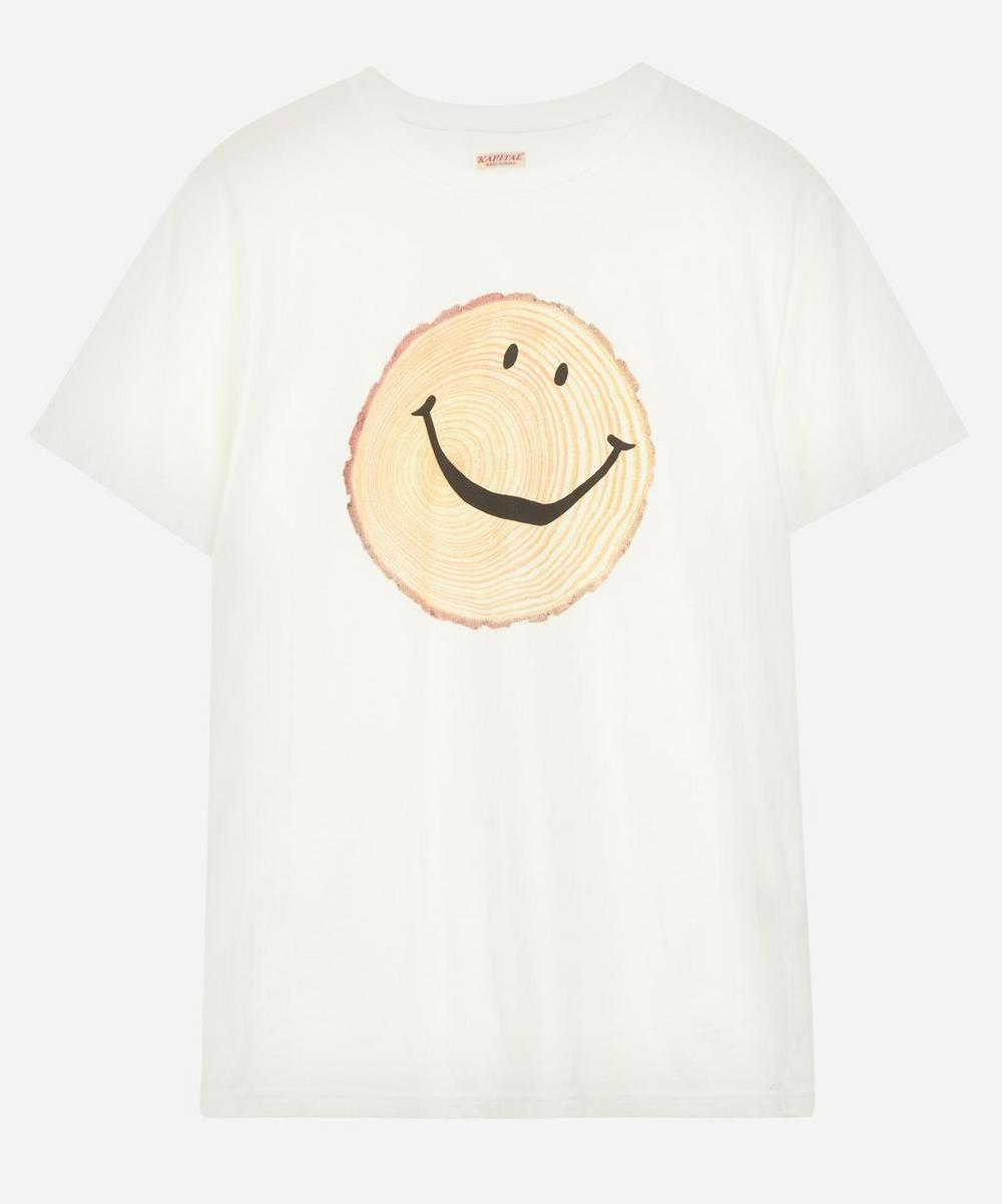 Kapital - Smile Crew-Neck Jersey T-Shirt