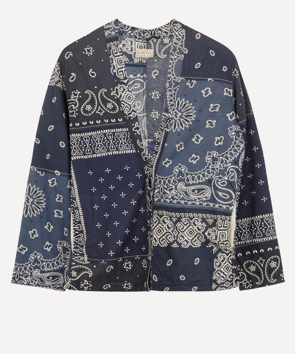 Kapital - Bandana Patchwork Shirt