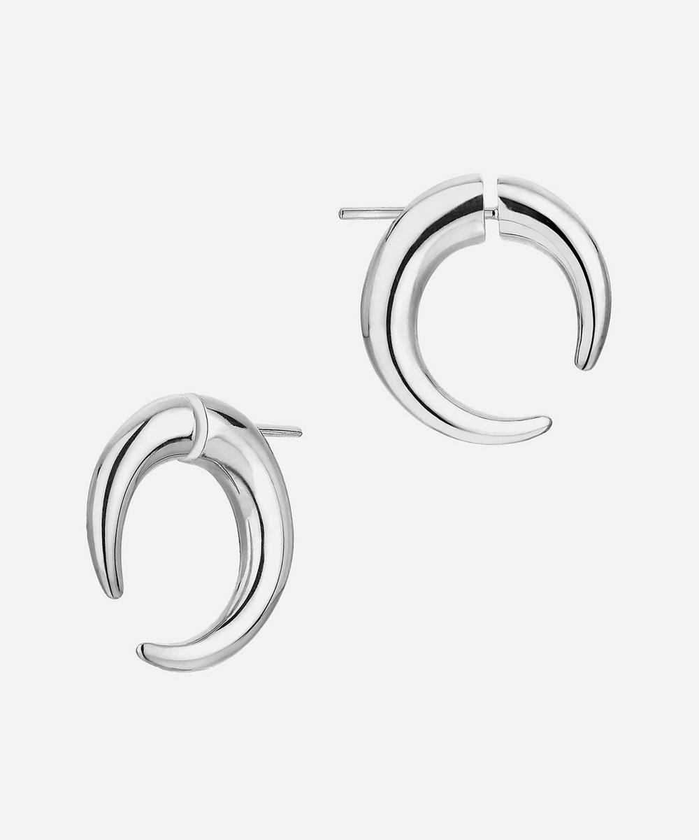 Shaun Leane - Silver Quill Small Hoop Earrings