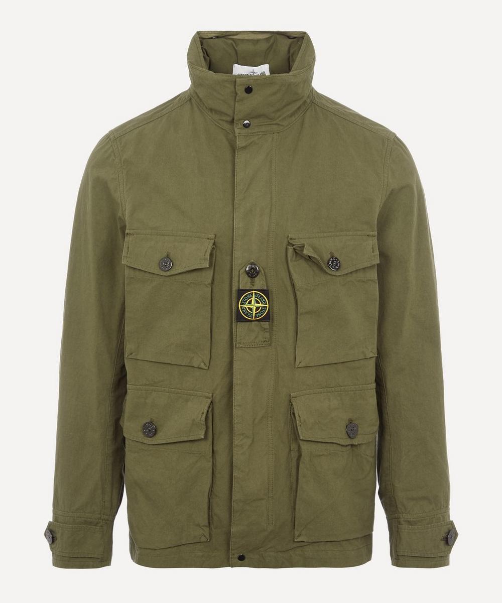 Stone Island - Cotton High Neck Jacket