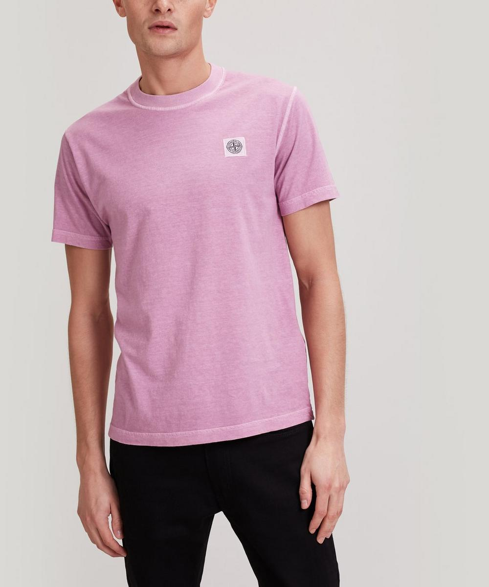 Stone Island - Washed Logo Patch T-Shirt