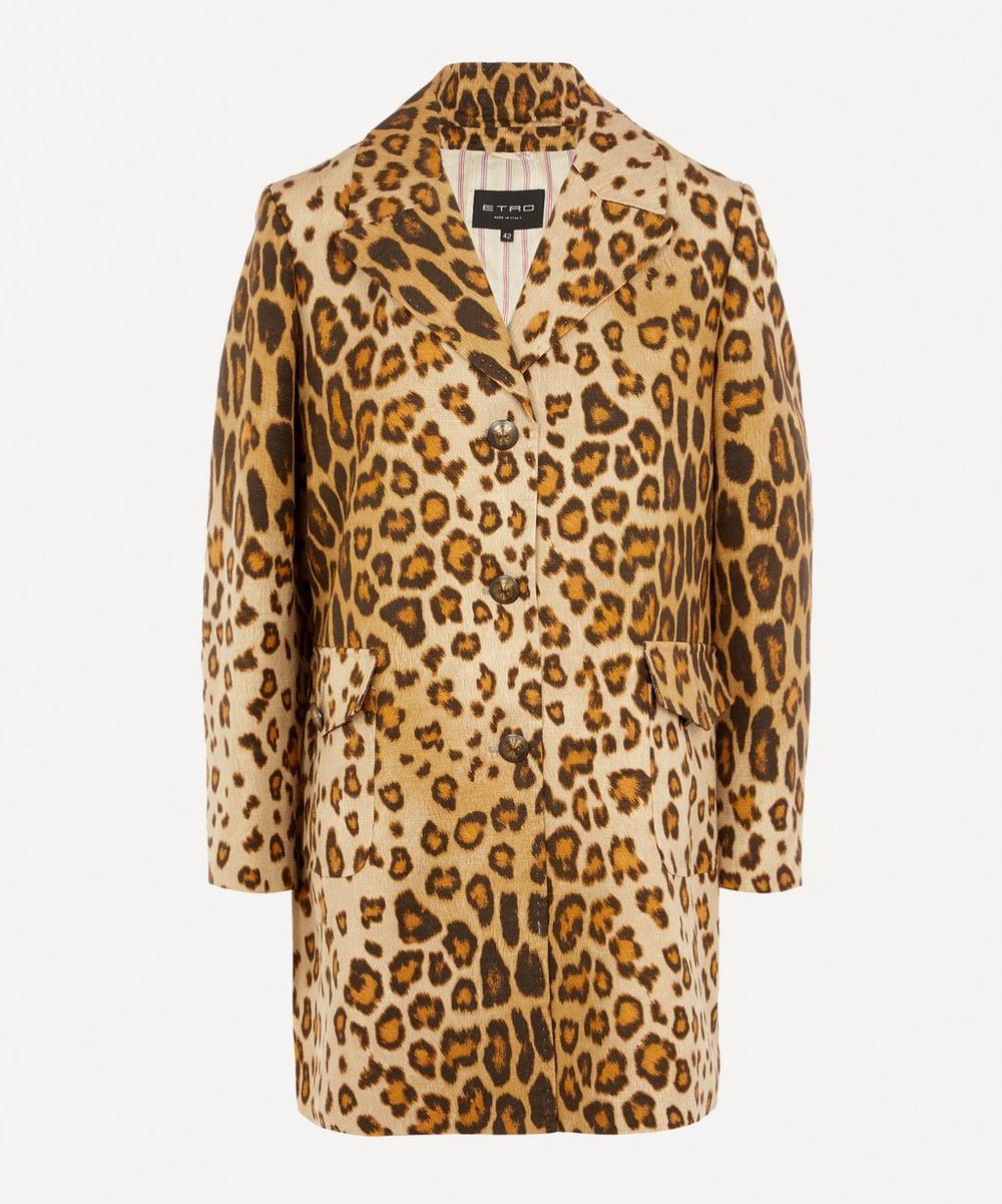 Etro - Leopard Print Jacket