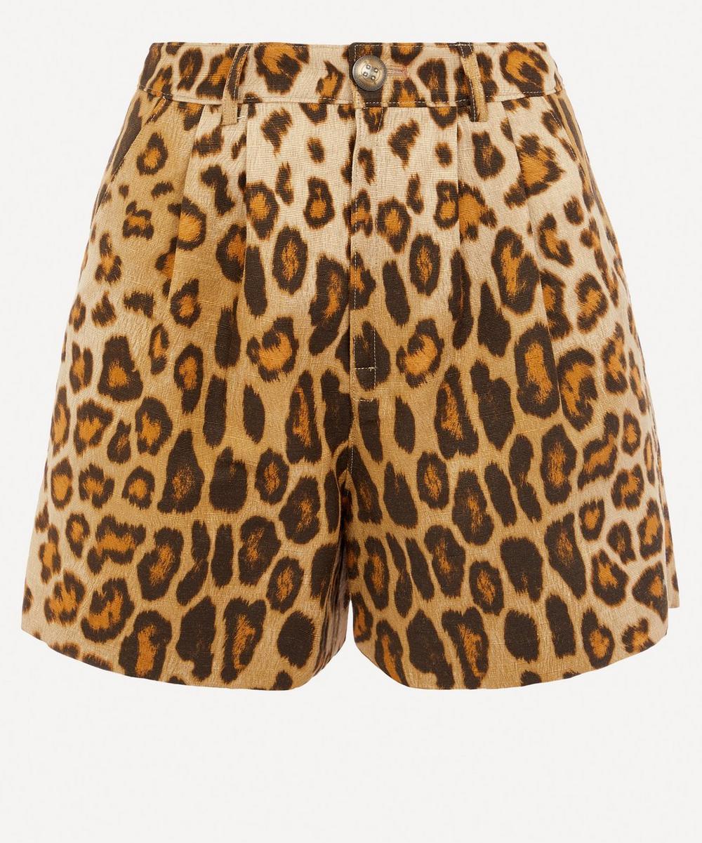 Etro - Runway Leopard Print Shorts
