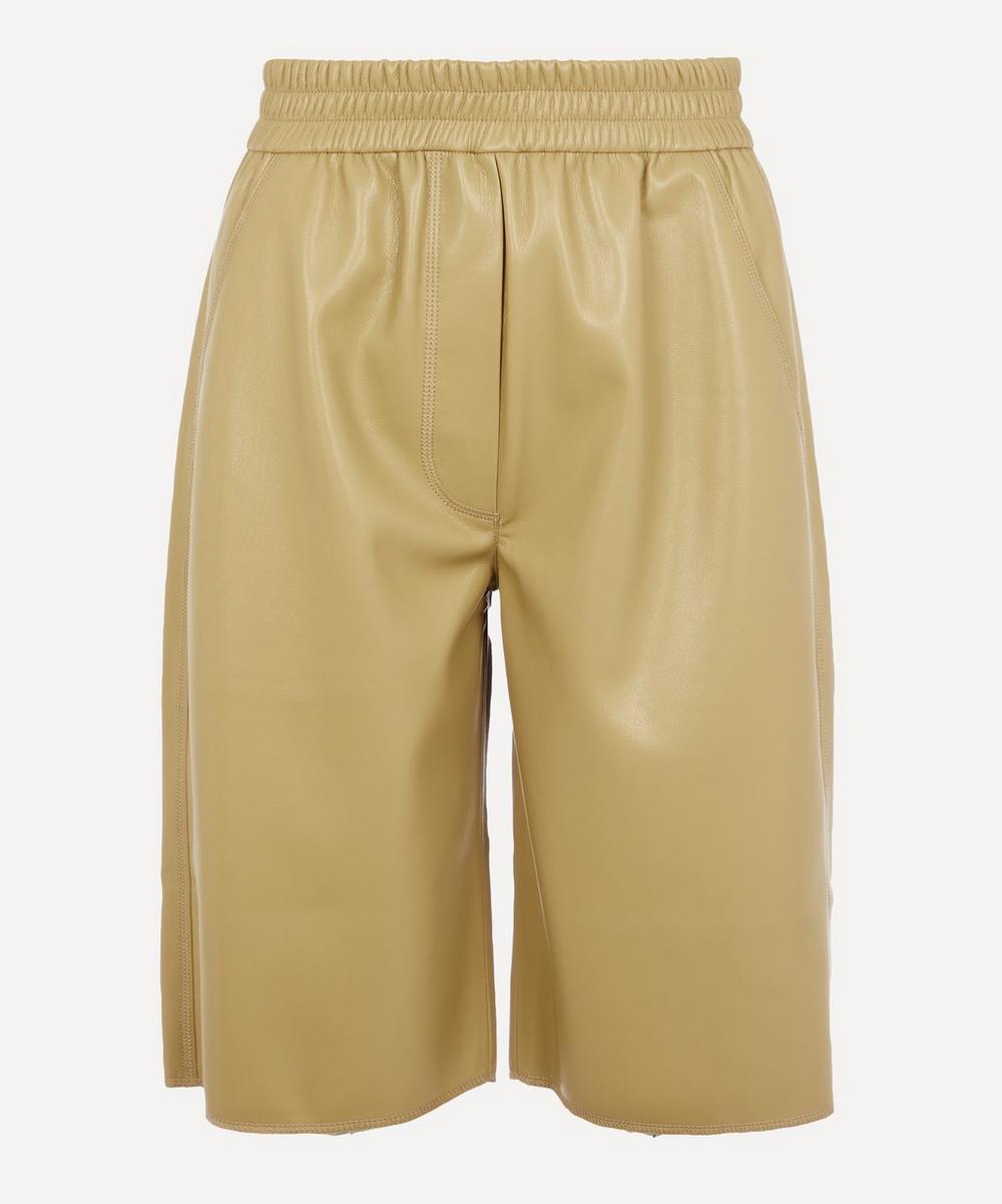 Nanushka - Yolie Vegan Leather Shorts