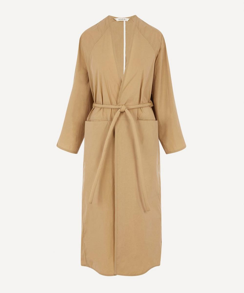 KASSL Editions - Wrap Front Trench Coat