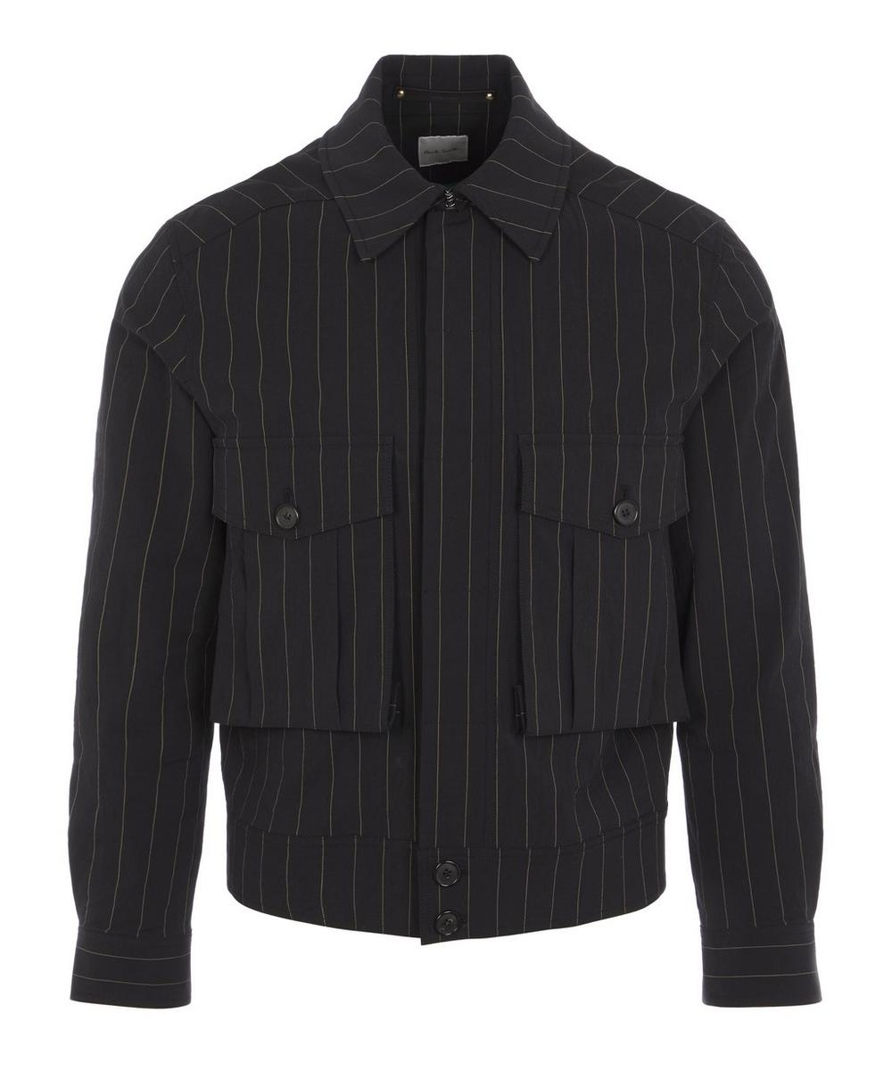 Paul Smith - Pinstripe Buttoned Jacket