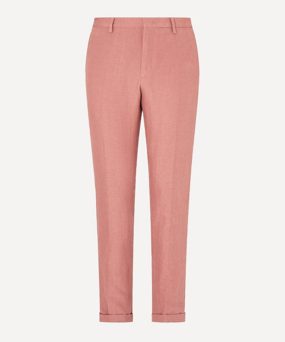 Paul Smith - Turned-Up Linen Trousers