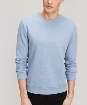 Rubber Logo Cotton Sweater